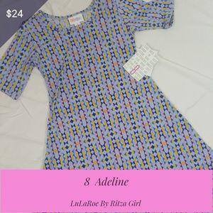 NWT LuLaRoe Adeline Dress Size 8
